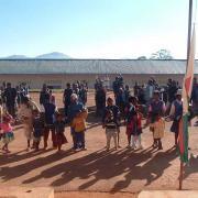 2008 Accueil des enfants à Ambohimahazo