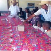 2014 Cantine d'enfants non parrainés à AMBATOFOTSY