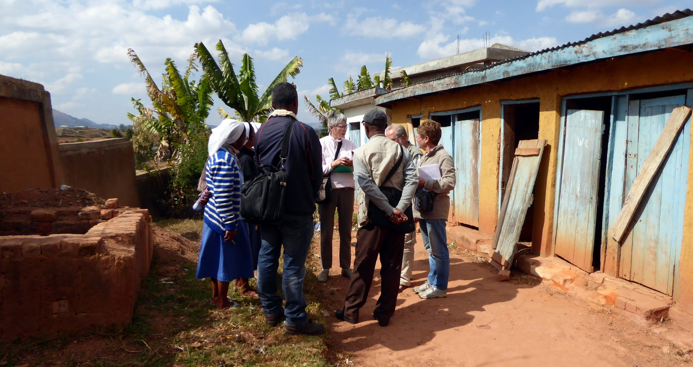 2016 1 WC de l'école d'Ambohimahazo_