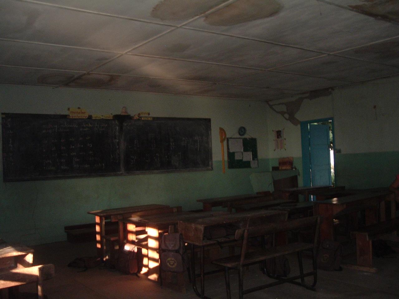 2009 Classe de MALAIMBANDY avant les travaux
