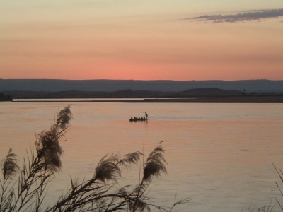 Couché de soleil sur la rivière de MIANDRIVAZO 2