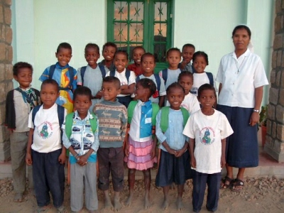 Enfants parrainés en individuel à SAKALALINA