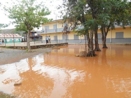Le cyclone Chedza a ravagé l'école de MIANDRIVAZO