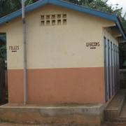 2010 Construction des sanitaire à ANALAVORY